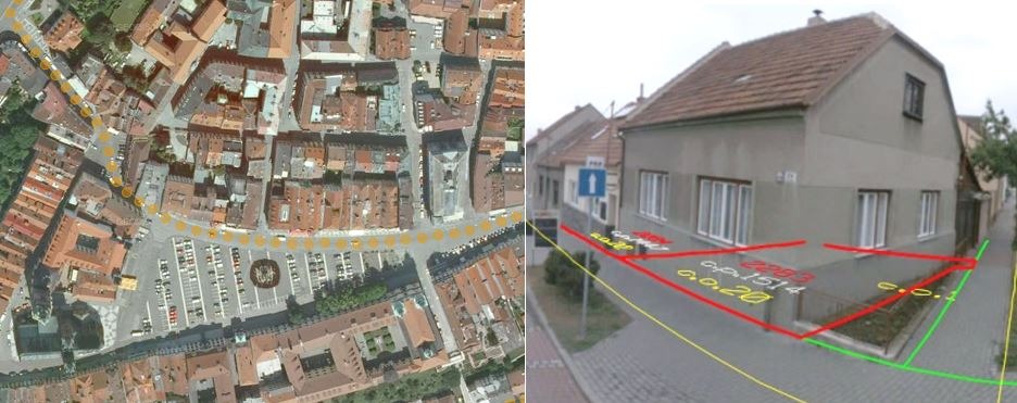 aerial street view